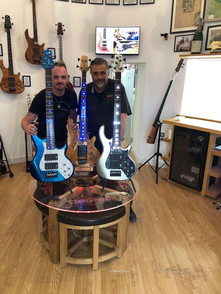 James Crofts Enfeild Guitars Sims Pickups
